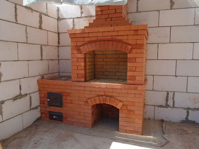 Как построить барбекю с казаном своими руками